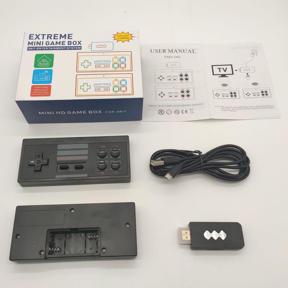 Mini Retro Console Wireless Nostalgic Host 4k HD Video Game Player Handheld Joystick 568 Klassische Spiele