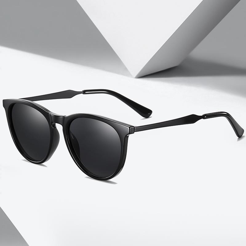 % 100 UV400 Koruma Vintage Sürüş Erkekler Kadınlar Klasik Retro Polarize Güneş Gözlüğü Çakmak Tasarım Meydanı'nı Çerçeve NO.ONEPAUL