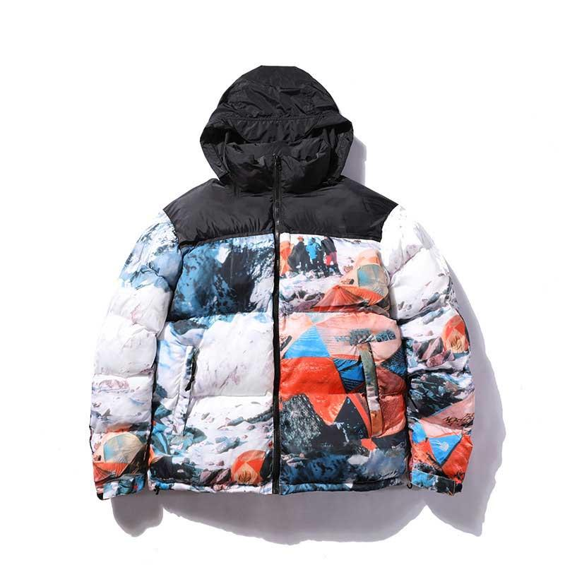 Fashion Stylish Designer Mens Jacket Coat Warm Windbreaker Jackets Latters Embroidery Pattern Zippers Tops Coat Outerwear Coats Clothes