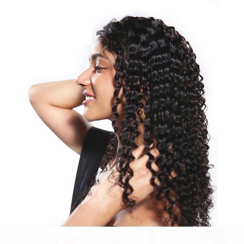 Cheap 8A brasiliano dell'onda profonda sguardo naturale dei capelli del merletto dei capelli umani frontale per Black Woman 10-30inch prezzo all'ingrosso di trasporto