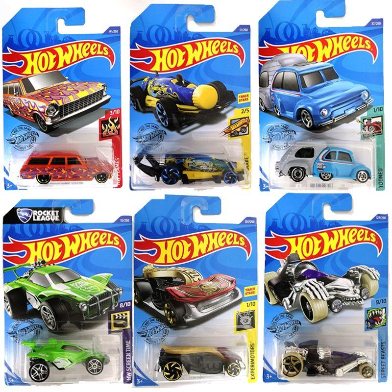 Metal Yeni 72 Tekerlekler Stil 1:64 Orijinal Sıcak Çocuk Oyuncakları Doğum Günü Hediyesi Çocuklar Için Diecast Hotwheels Mini Model Yarış Araba Brinquedos