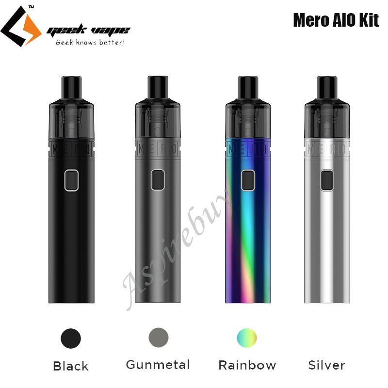 GeekVape Mero AIO Kit 2100mah Battery MTL DTL Pod Vape with B series Coil Electronic Cigarette Vaporizer