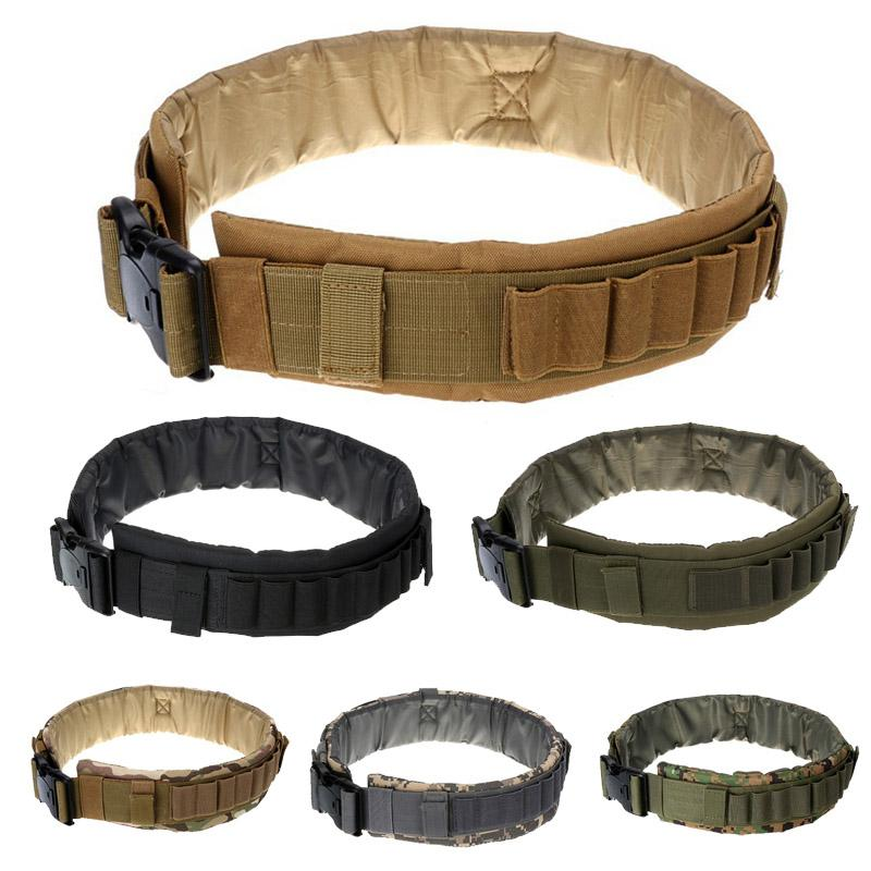 Sport all'aria aperta Caccia dell'esercito Scorato di Paintball Gear Airsoft Army Shooting Molle Belt Tactical Belt NO10-200