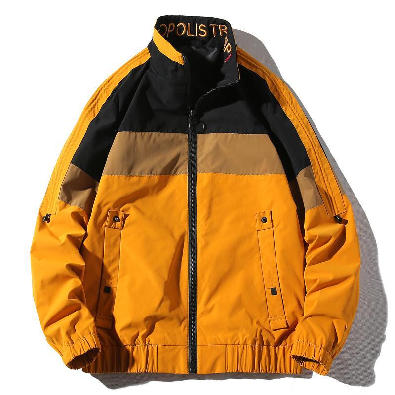 2020 Autumn New Design Herren lose Revers Jacken mit Leopard Druck Straße tragen Casual Mantel