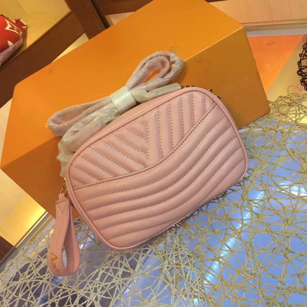 designer luxury handbag purse L purse wave women shoulder crossbody purses genuine leather diamond lattice purse bag