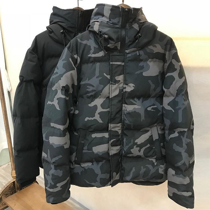 New Arrival Canada Men Down Parka Winter Jacket Arctic Parka Navy Black Outdoor Coat Men &#039 ;S Hoodies Hiver Manteau Doudoune