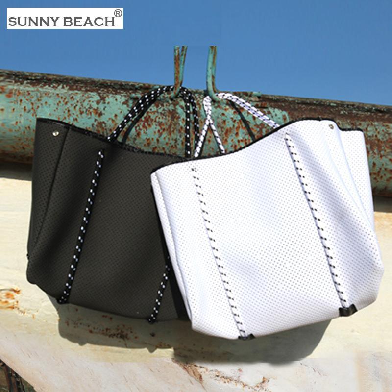 NOVO tecido mergulho Luxurious Neoprene saco respirável ombro de grande capacidade marca Casual sacola Top-Handle sacos sacos de ombro 0928