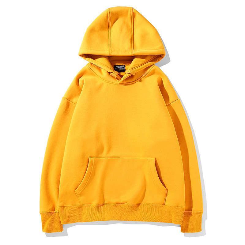 Sonbahar ve Kış Kadife Kazak Kazak Omuz Hoodie Kadın Tembel Katı Renk Boş Casual Giyim 2020 INBEL