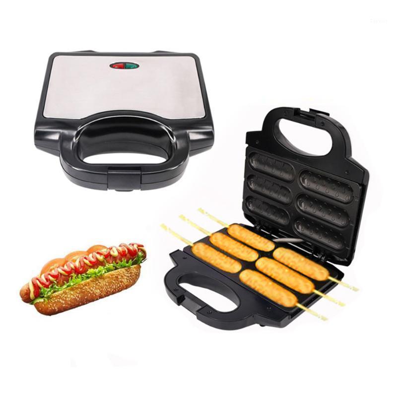 Хлебные производители электрические 850 Вт собака не-палочки покрытия Waffles Maker Crispy Coquary French Musfin колбаса для завтрака1
