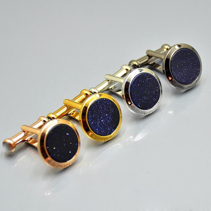 Luxury Cufflinks star flower French Cuff links shirt accessories festival gifts fashion jewelry wholesale M1-4