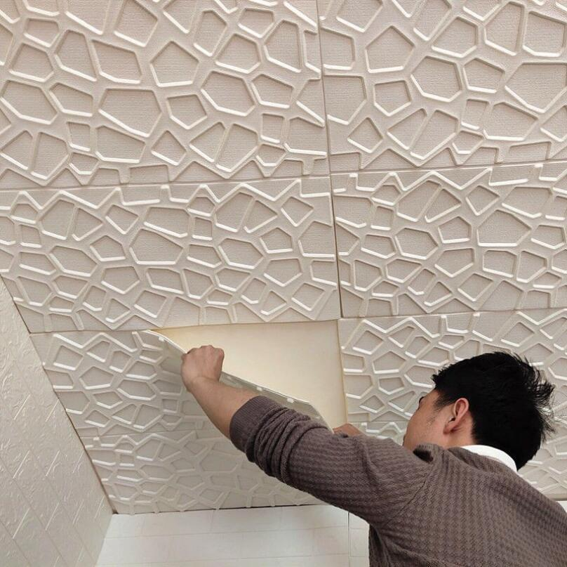 MULIT STYLE 3D Wandaufkleber Nachahmung Backstein Schlafzimmer Dekor Wasserdichte Selbstklebende Tapete Für Wohnzimmer Küche TV Hintergrund Dekoration