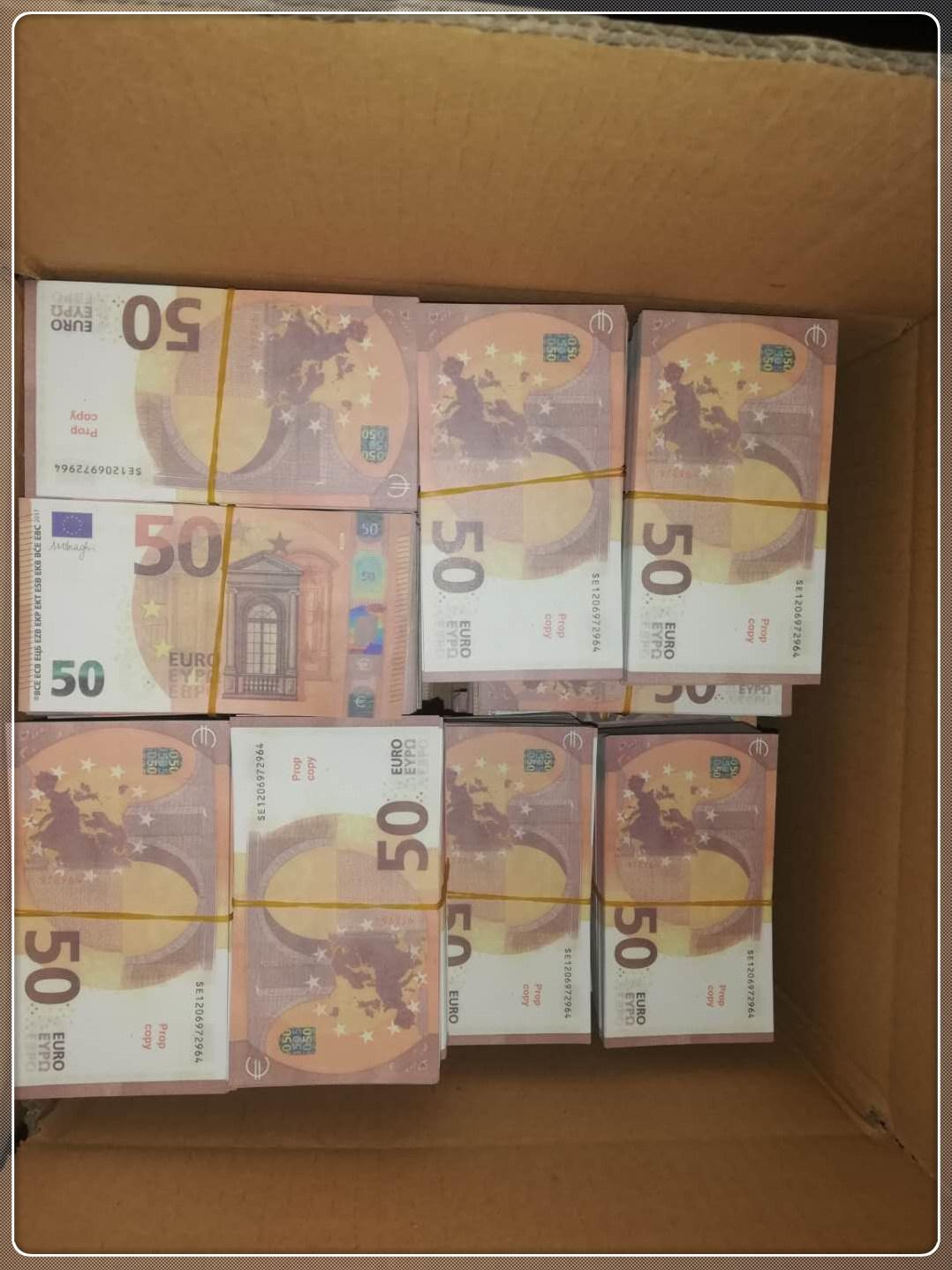 LE50-13 PROP 50 EURO COMPLET CONP Banknote Party Toy Bar Stage Hot Shoping Copy Atmospherse MV UUXOH COMPLET IJRVS