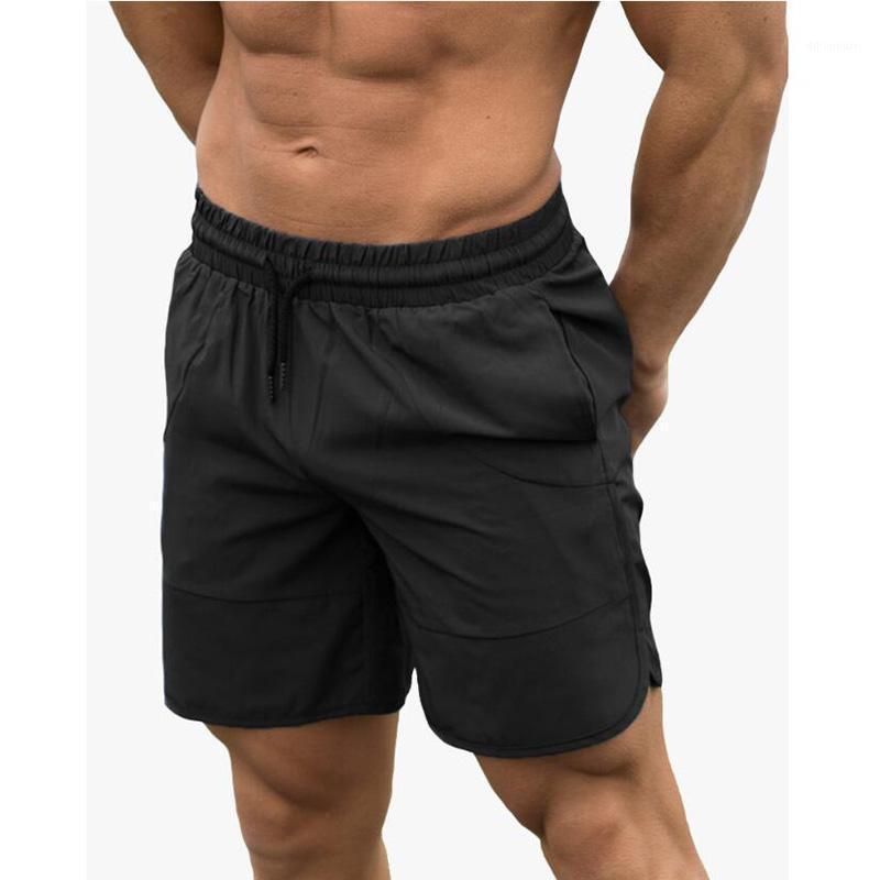 Nouveau Summer Hommes Sweat Shorts Gyms Fitness Entraînement Quick-Dry Pantalon Court Homme Elastic Casual Beach Shorts Slim Fit Bases 1