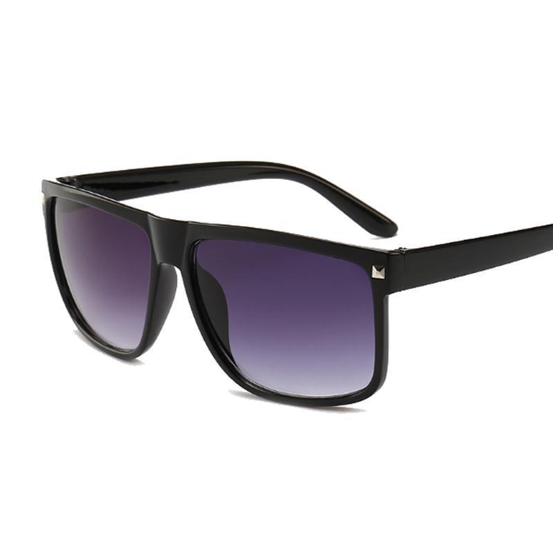 Occhiali da sole Brand Design Black Men Donne Driver Shades Maschio Vintage Occhiali da sole Occhiali da sole Square Specchio Summer UV400 Oculos