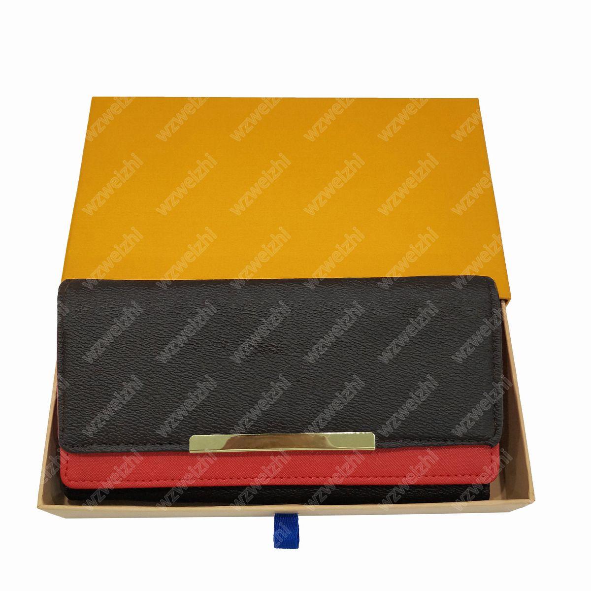 Yeni En Yüksek Kalite Moda Çanta Kart Tutucu Debriyaj Çanta Billfold Yüksek Kaliteli Deri Presbiyopik Cüzdan Çanta Kadın Uzun Katlanır Pocketbook