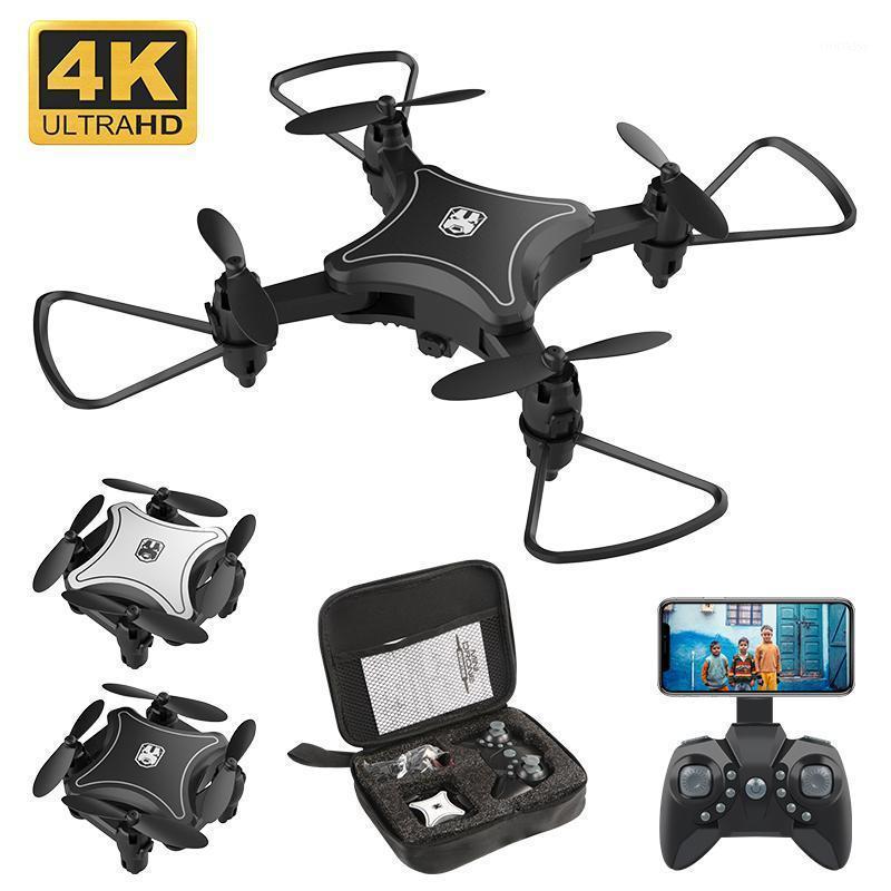 Drohnen Mini-Drohne mit Kamera WiFi FPV 4k HD-Höhenhaut RC Hubschrauber Faltbare Quadcopter Hohe Qualität Dron Toys1