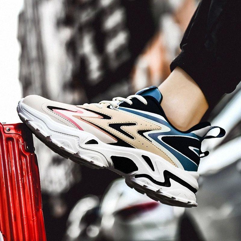 Zapatos de Ymugmz zapatos deportivos de hombre liviano para hombres Reflexión de los hombres Ligero liviano caminar Zapatillas Hombre cómodo # CS4X