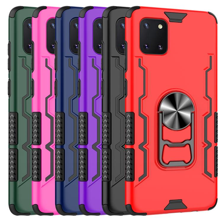 Caso de cerveja anel magnético kickstand armor case telefone tpu pc capa para samsung note10 note10 pro s11 mais s11e novo iphone anti-outono oppbag