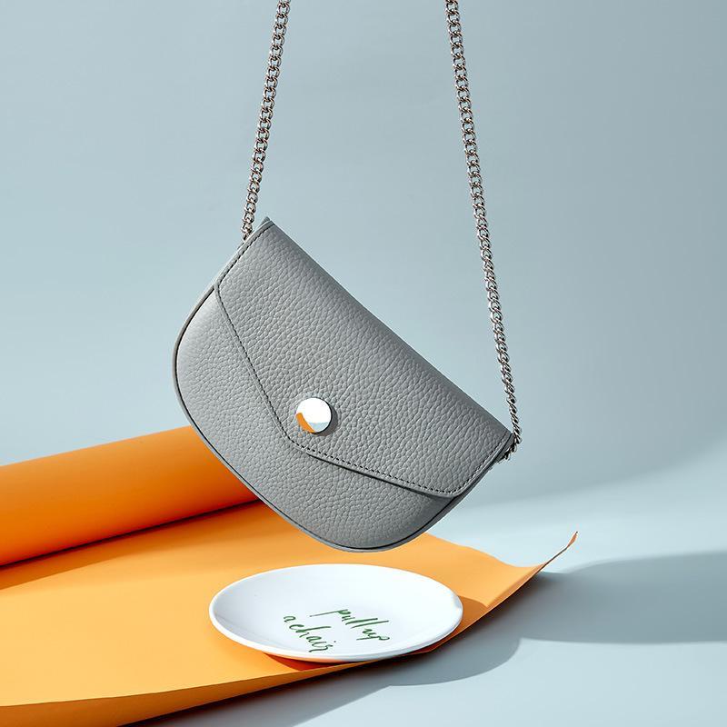 100% натуральная кожа мода женщин Crossbody сумка высокого качества Элегантная леди плеча сумки Hobos сумка