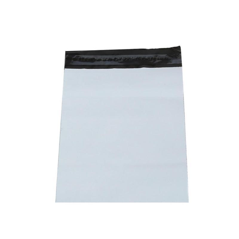 100Pcs / Gri Plastik Poly Zarf Mailer Kargo Kurye Plastik Yapışkan Bags paketi Kendinden mühür Depolama Zarf Çanta O0A8