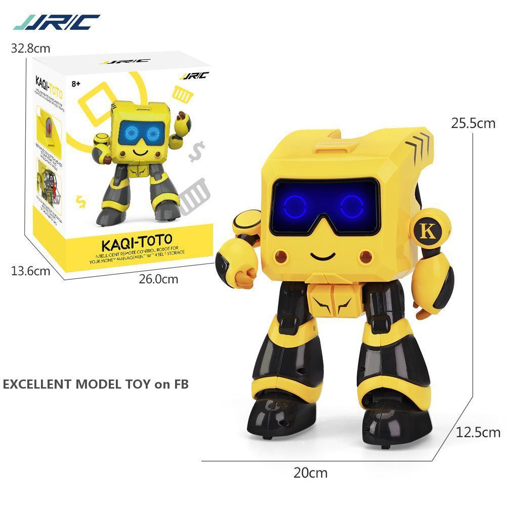 YDJ-K17 Intelligente Programmierung RC Roboterspielzeug, Geldbox, Lagermanagement, Berührungserfassungen, Sing Lights Tanz Tell Tell Story, Kind Geburtstagsgeschenk