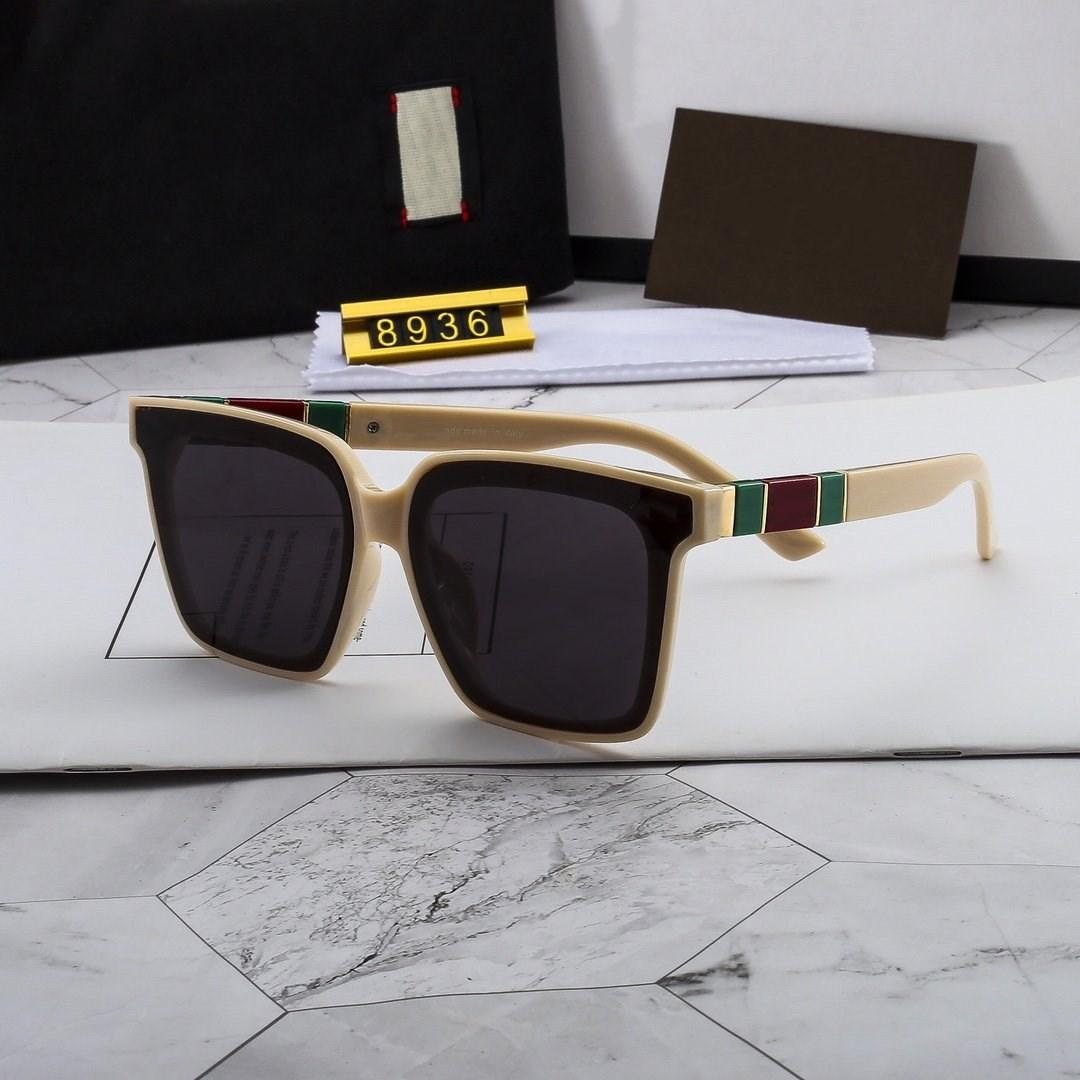 2020 nuovissimo occhiali da sole polarizzati di alta qualità per uomo e donne grande telaio quadrato lusso occhiali da sole designer occhiali moda all'aperto G8936