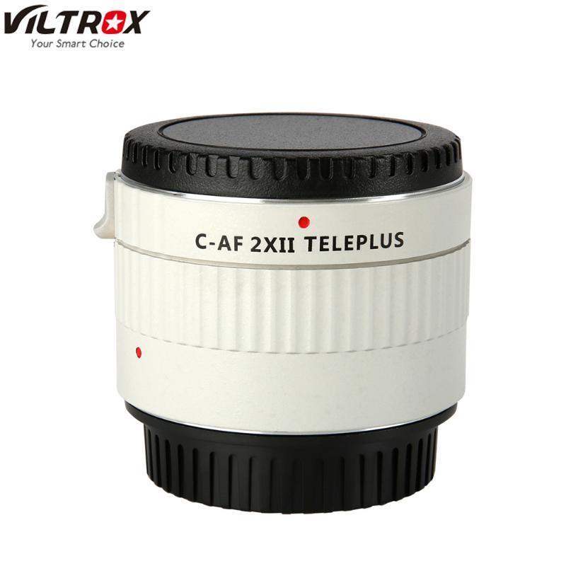 Viltrox C-AF 2XII TELEPLUS Teleplus Autofocus Teleconverter 2.0X Extender Telephoto Converter for EOS EF lens 7DII 5D IV