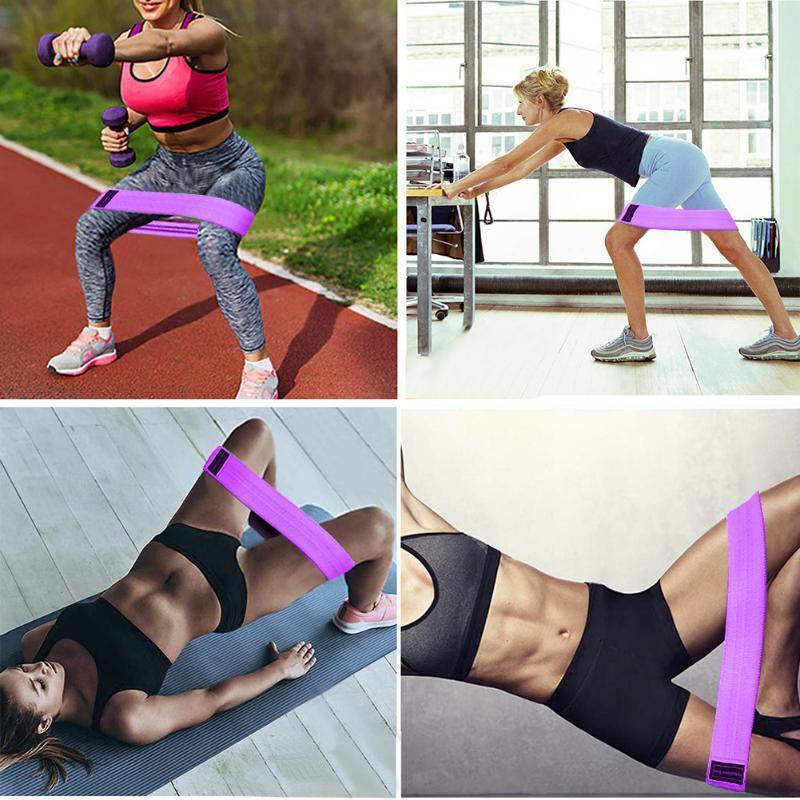 Forza Resistance Band Loop Esercizio Sport elastico ginnastica di yoga glutei Non Slip Fitness Training Bodybuilding