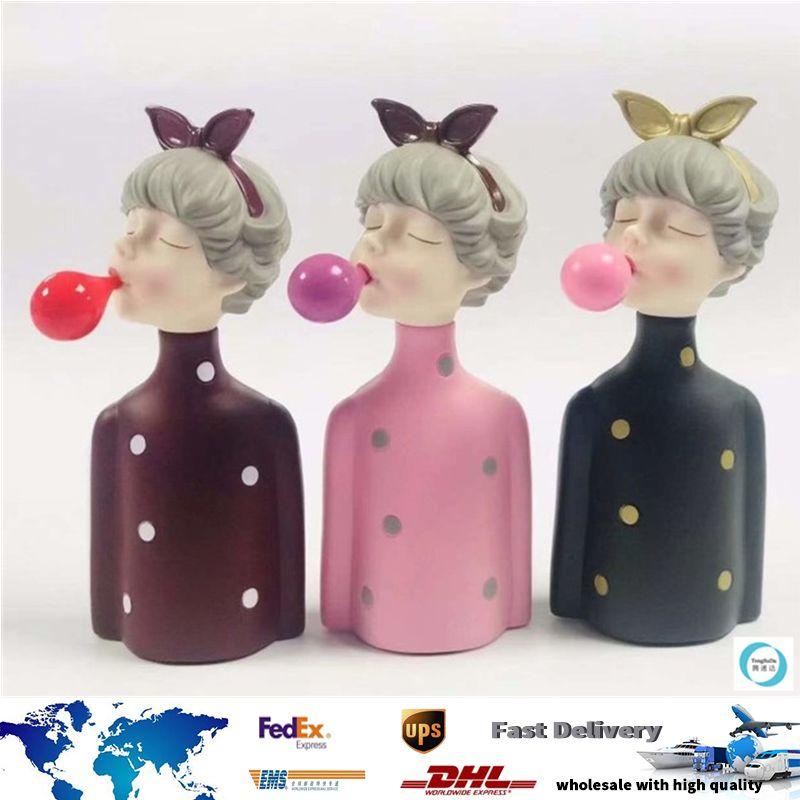 Попо Девочка Bluetooth 5,0 SpeakerCartoon беспроводной динамик Bubble FM-радио Громкоговоритель U диск TF слот MP3-плеер младенца игрушки DHL Fedex Free