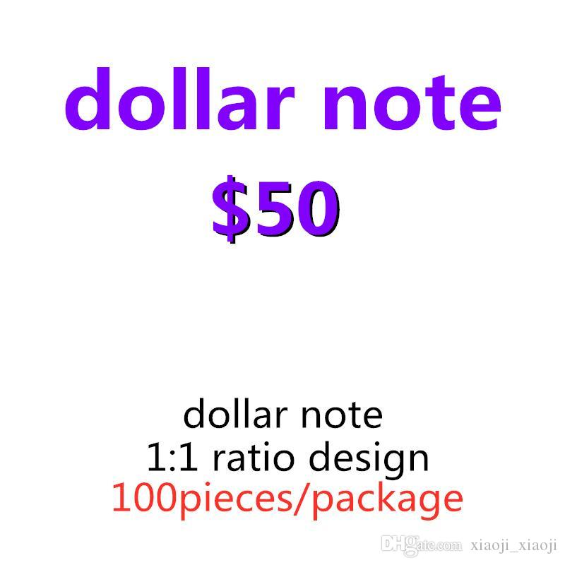 Bar Money Faux Dollar Paper Billet USA Money Toys Game Most Realistic Prop Play 50 Children Party Movie Adult Nightclub 16 Obupk