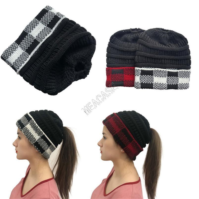 Bonnets de tampon de Buffalo Designers Femmes Chapeau d'hiver Femmes Sloudy Cuff Skull Capuchon Capuche Capuche Chapeaux de Ski Chapeaux de Ski Sport