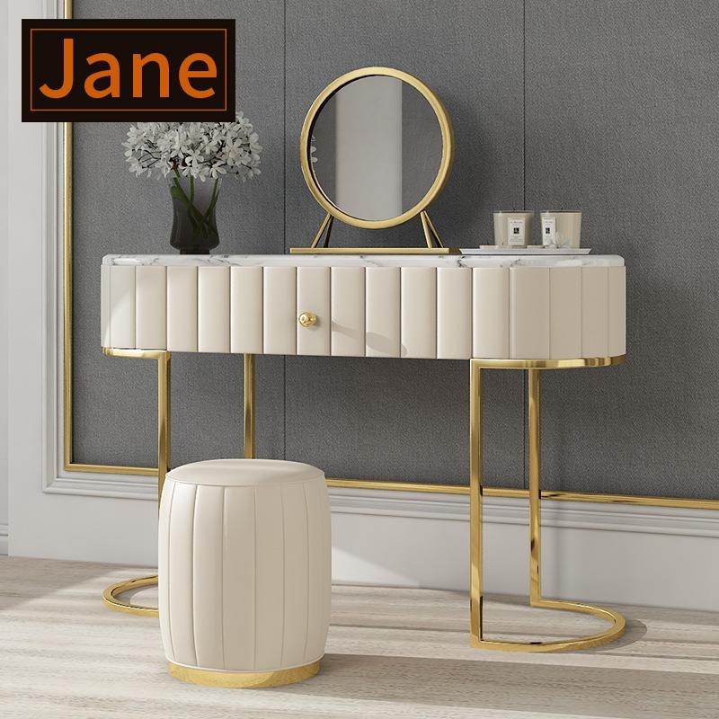 Schminktisch Schlafzimmer Nordic Marmor Modern Einfache Kleine Makeup Tisch Net Rot Ins Wind Light Luxus Dressing Tisch Veranda