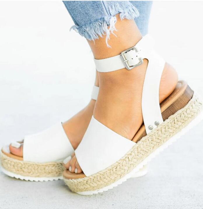 Горячие продажи свободной перевозкы груза высоких каблуках сандалии летние туфли флип-флоп Chaussures Femme платформы сандалии