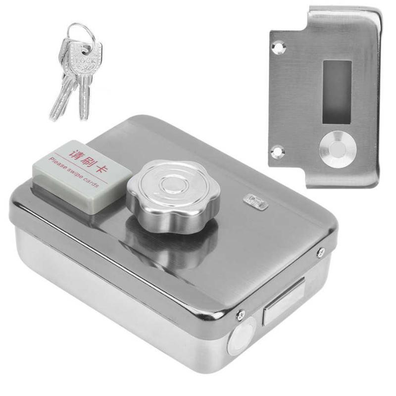 Access Control Kits Elektrisches Türschloss Edelstahl-ID-Karte Access Control System mit Fernbedienung Rfid Schloss
