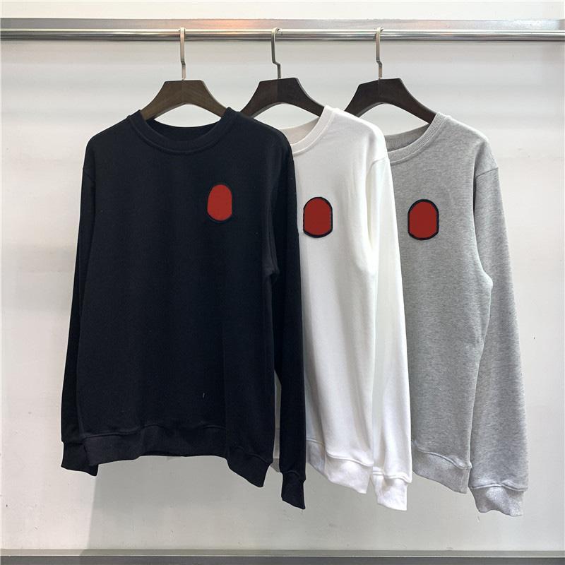 Yeni stil erkekler Kazak moda erkekler kadınlar kaliteli pamuk işlemeli sweatshirt uzun kollu kazak boyut M-2XL