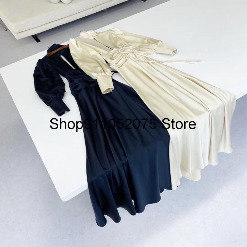 Robe longue de haute qualité de haute qualité pour femmes