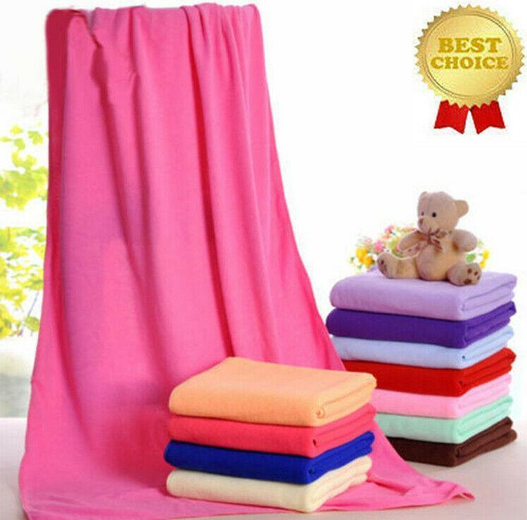 70x140cm منشفة ماصة الناعمة فندق سبا حمام ستوكات السفر 100٪ القطن التركي الحقيقي (14 ألوان لاختيار) 1