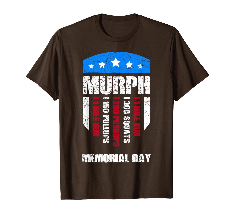 Wod Workout Cross Fitness Memorial Day Murph Wod Recovery T-Shirt