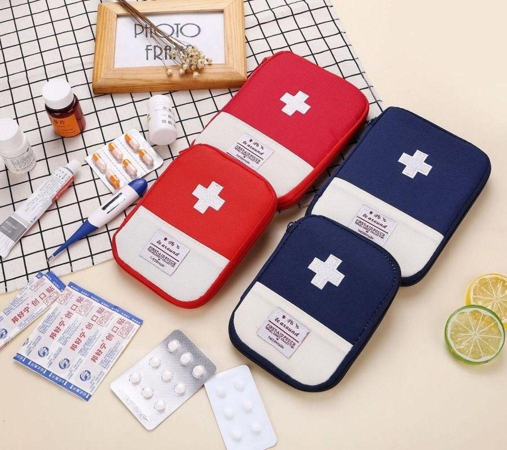 DHL portátil Survival Emergency Bag Mini Family First Aid Kit Car Kits de emergência médica Home Bag exterior Desporto Viagem First Aid Bag FY6188