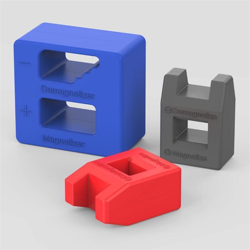 Намагничивателя размагничивание Box отвертки Советы Винтовая Bits магнитный инструмент