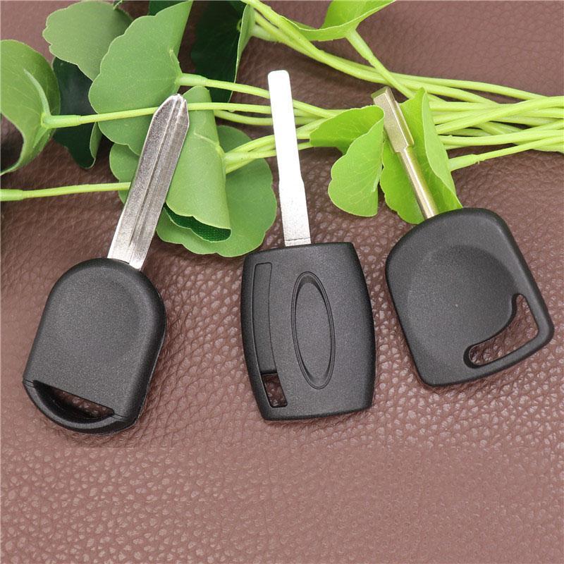 Remote Transponder Key Shell для Ford Lincoln Mercury Uncut Key Blane Case (может установить чип) Нет чипа