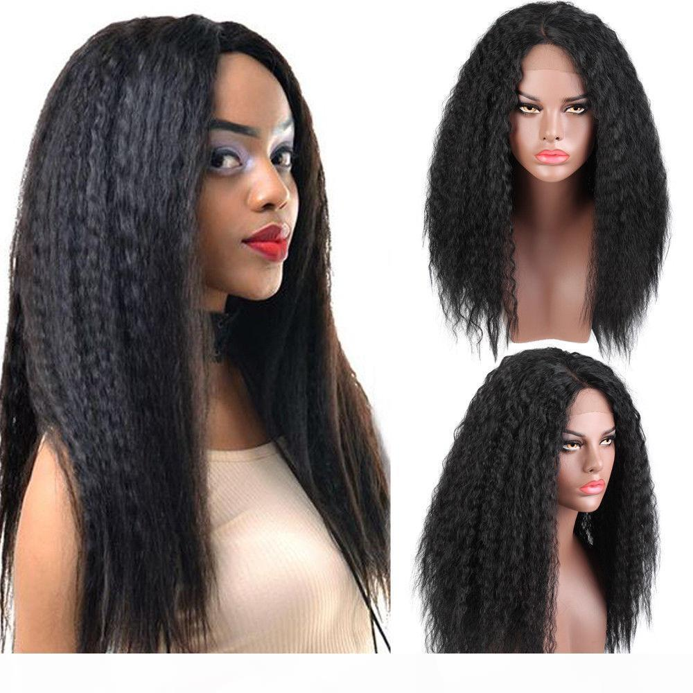 360 Rendas Frontal peruca 150 densidade pré-arrancada peruca rendas reta reta preta rendas dianteira peruca cabelo humano com cabelo bebê rabo de cavalo natural