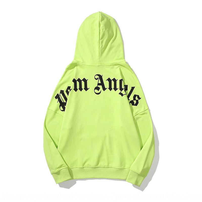 q1Qm Expédition FreeYOU Were Here Plam Hoodies lettre mode d'impression à capuche Streetwear Homme et femme Sweat-shirt QJ2