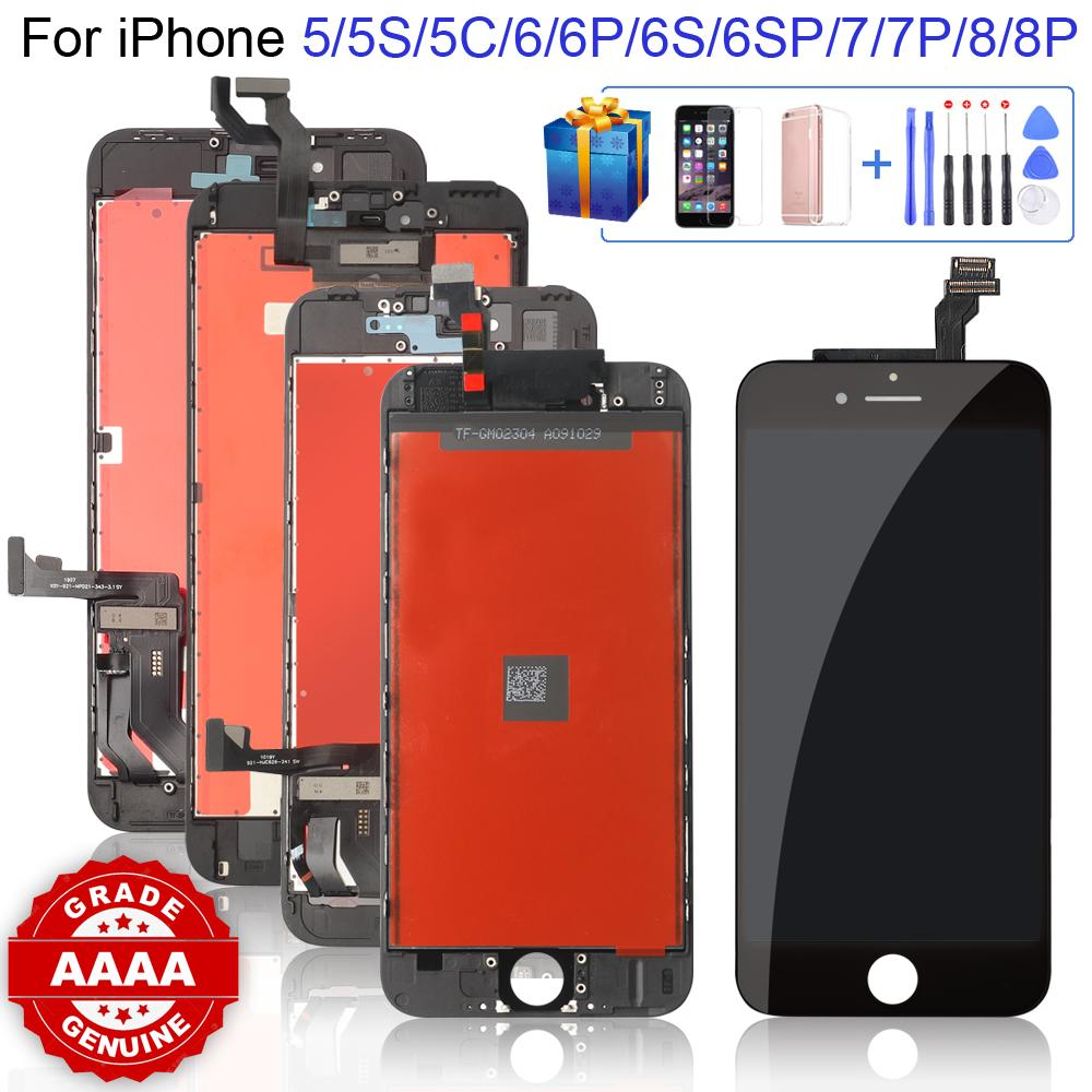 Grade Best+ for iPhone 6 6S 6P 6SP 7 7P 8 8Plus LCD with Perfect 3D Touch Screen Digitizer Assembly 5S 5 5C
