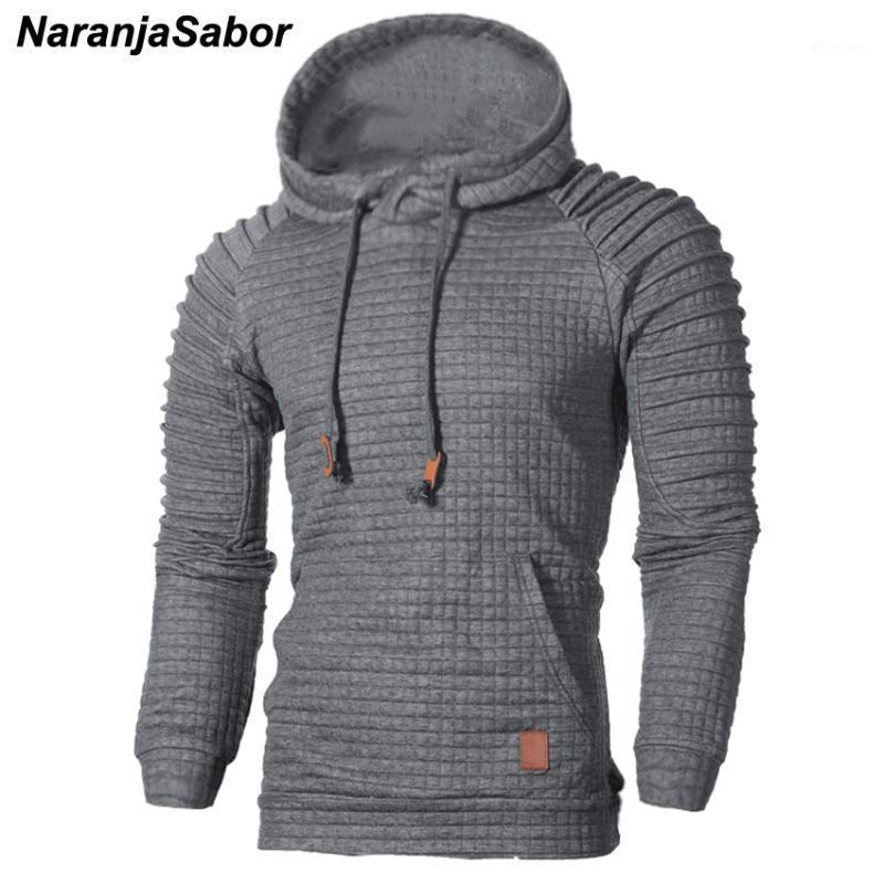 Herren Hoodies Sweatshirts Naranjasabor Herren Frühling Herbst Mit Kapuze Gestreifte Männliche Casual Coats Männer Streetwear Mode Tracksuits N4481