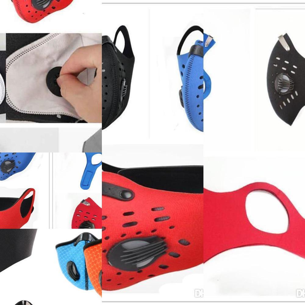 Máscara 1 cara protectora HOM PCS PCS Half Training Mask Anti-Contaminación ejecutando Activatud3s AEBB IKXF