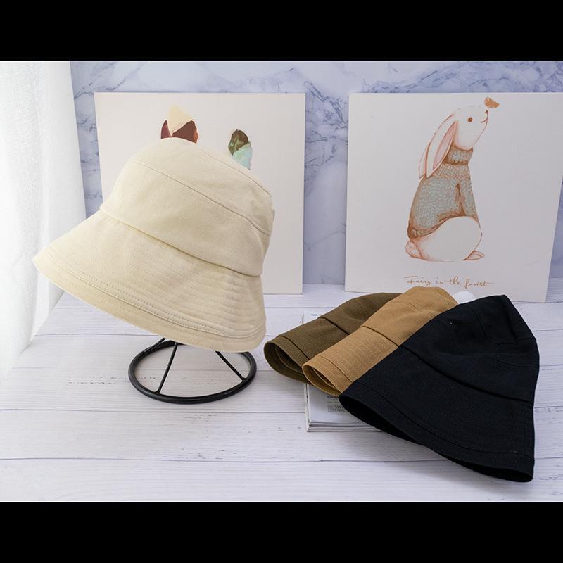 2020 Venta caliente de otoño e invierno con sombrero de ala de ancho de invierno Moda All-Match Casual Bucket Sombrero Sombrero Fedora Hats Top Calidad Venta Hot Bonnet