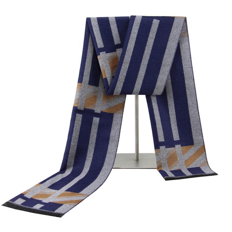 Шарф для мужчин, для мужчин Корейский стиль шарф, зима теплый шарф, кашемир моды мягкий шарф