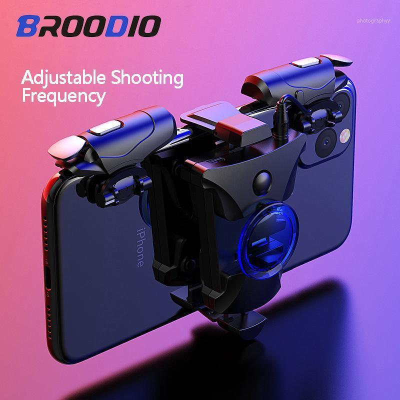 Gamepad Joystick Ley Smartphone Game Trigger Control per Android Pubg Mobile Gamepad Button Shooter Controller Game Pad1