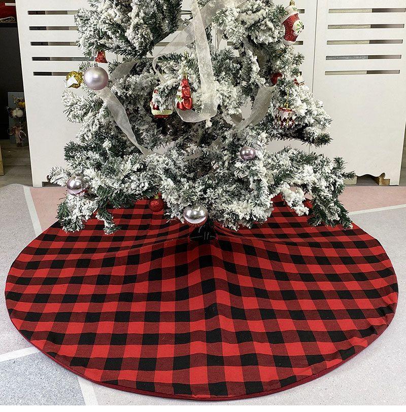 Sınır ötesi kara ağaç o önlük altındaki Noel süsleri tatil Noel ağacı dekore ağacın etek bütün bez